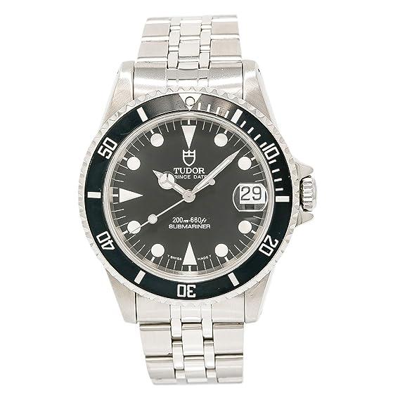 Tudor Submariner swiss-automatic Mens Reloj 75190 (Certificado) de segunda mano: Tudor: Amazon.es: Relojes