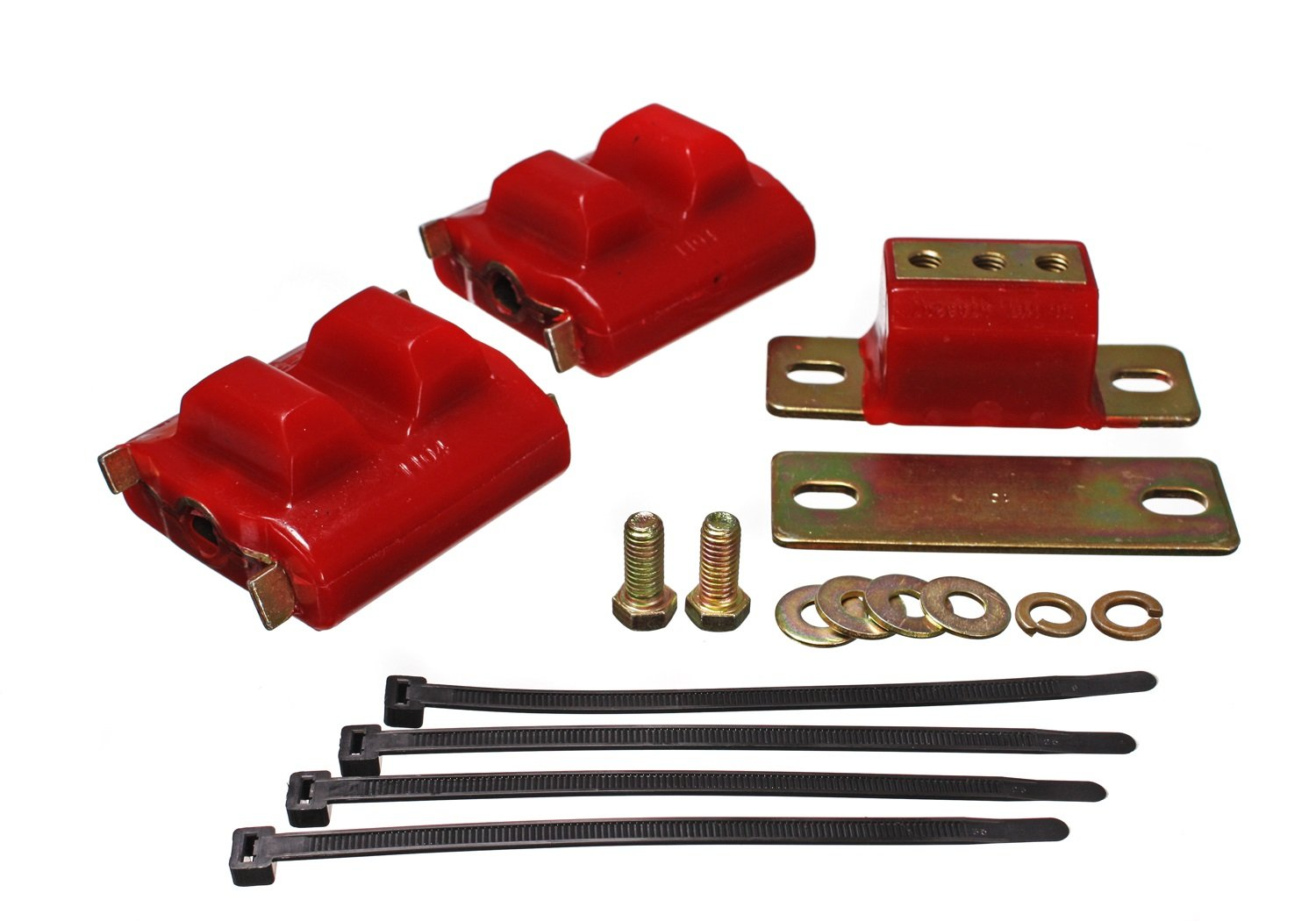 Energy Suspension 3.1130R COMPLETE ENGINE&TRANS MNT SET