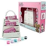 L.O.L. Surprise! Joyero para Niña con Pieza Mosaico Glitterati Queen Bee Confetti Pop Actividad Creativa Niñas