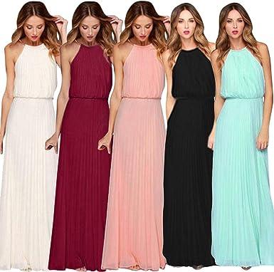 beautyjourney Robe pour Mariage Invité,Femmes