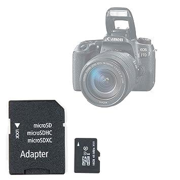 Tarjeta de memoria microSDHC/microSDXC de 16 GB para cámara ...