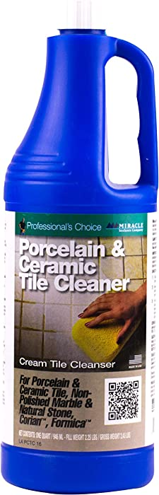 Miracle Sealants PCTCQT6 Porcelain & Ceramic Tile Cleaners, Quart