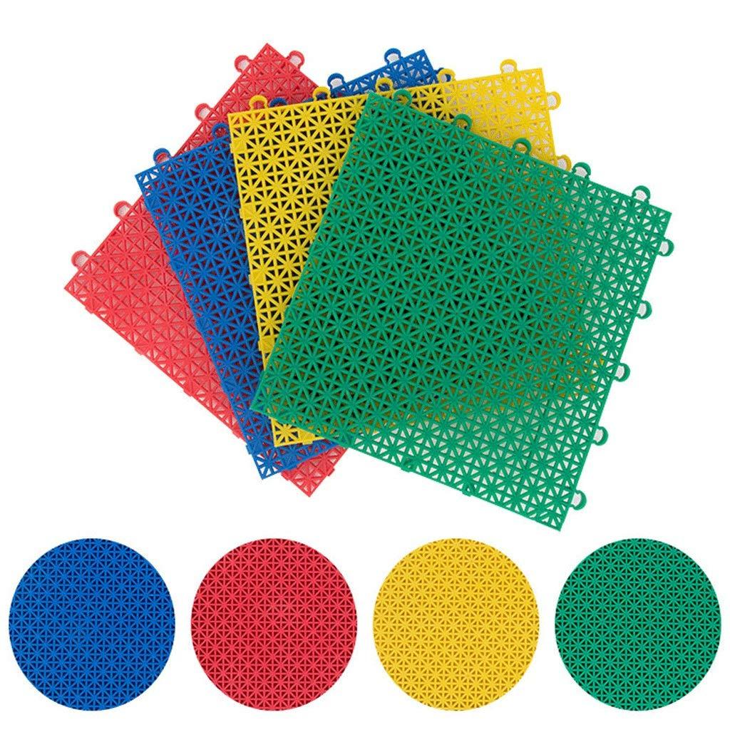 33m Medium soft Tapis De Jeu De Verrouillage Tapis De Sport En Plastique Tapis De Puzzle Tapis En PVC Convient Aux Balcons De Basket-ball Jardin Campus Piste MultiCouleure Taille (25  25  1.3cm)