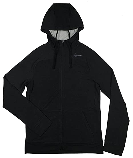 Amazon.com  NIKE Men s Dri Fit Touch Training Charcoal Grey Hoodie ... caab61307c
