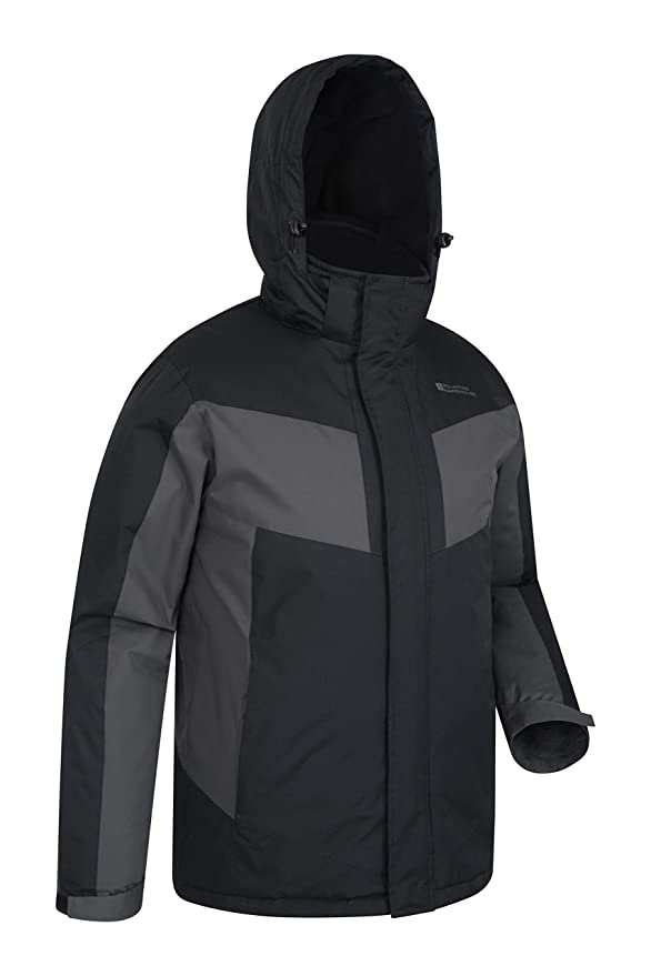 Mountain Warehouse Dusk Mens Ski Jacket - Water Resistant Winter Coat