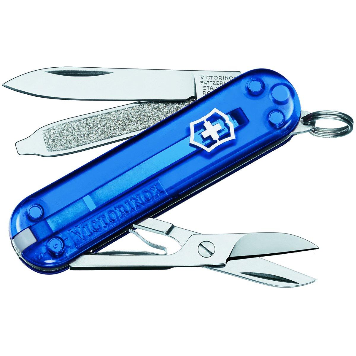 Victorinox Kleines Taschenwerkzeug Navaja, Azul Translucido ...
