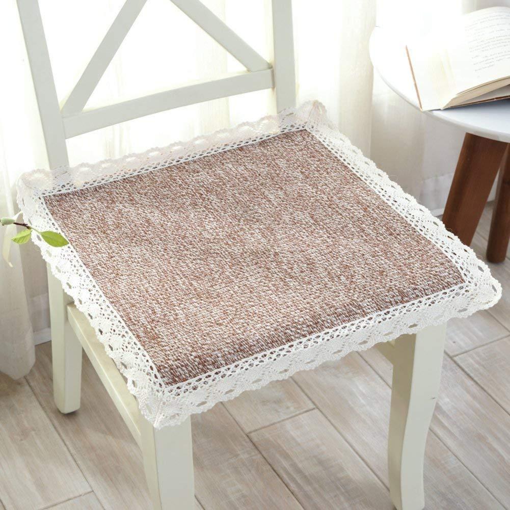 冬の厚くなるダイニングルームチェア、椅子の布の綿布の椅子、Lin Cotton Padding、President-D 45X45Cmx5(18X18Cmx5) (色 : E, サイズ : 45x45cmx1(18x18inchx1))   B07RYRF57P