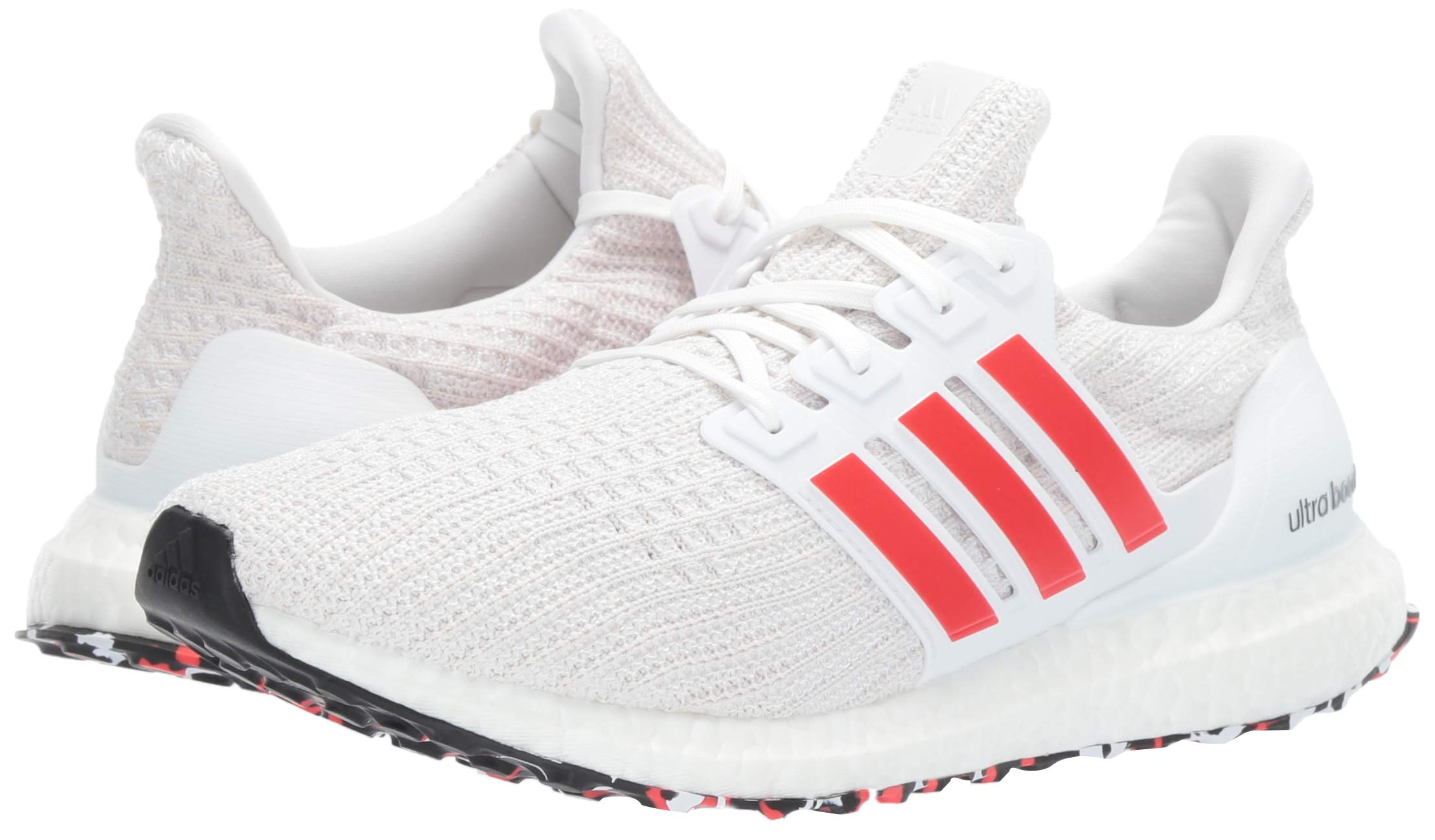 adidas Men's Ultraboost, Active red/Chalk White, 4 M US by adidas (Image #6)