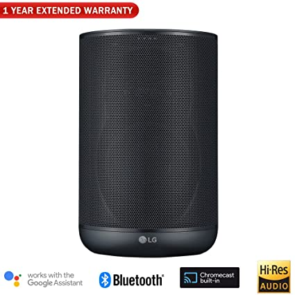 Amazon.com: Altavoz LG WK7 ThinQ con Bluetooth y audio de ...