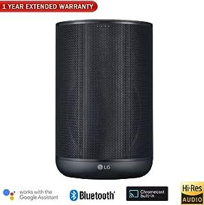 LG WK7 ThinQ Speaker w/Bluetooth & High Resolution Audio + 1 Year Extended Warranty