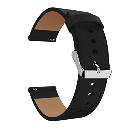 Amazon com: For Fitbit Versa Genuine leather Band, Patrohoo