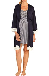 6ef9728bf44f6 Angel Maternity 3 in 1 Birth Kit: Hospital Gown + Maternity Gown, Nursing  Dress