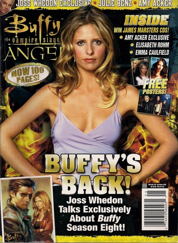 Download Buffy the Vampire Slayer & Angel Magazine 30: April/May 2007 pdf epub