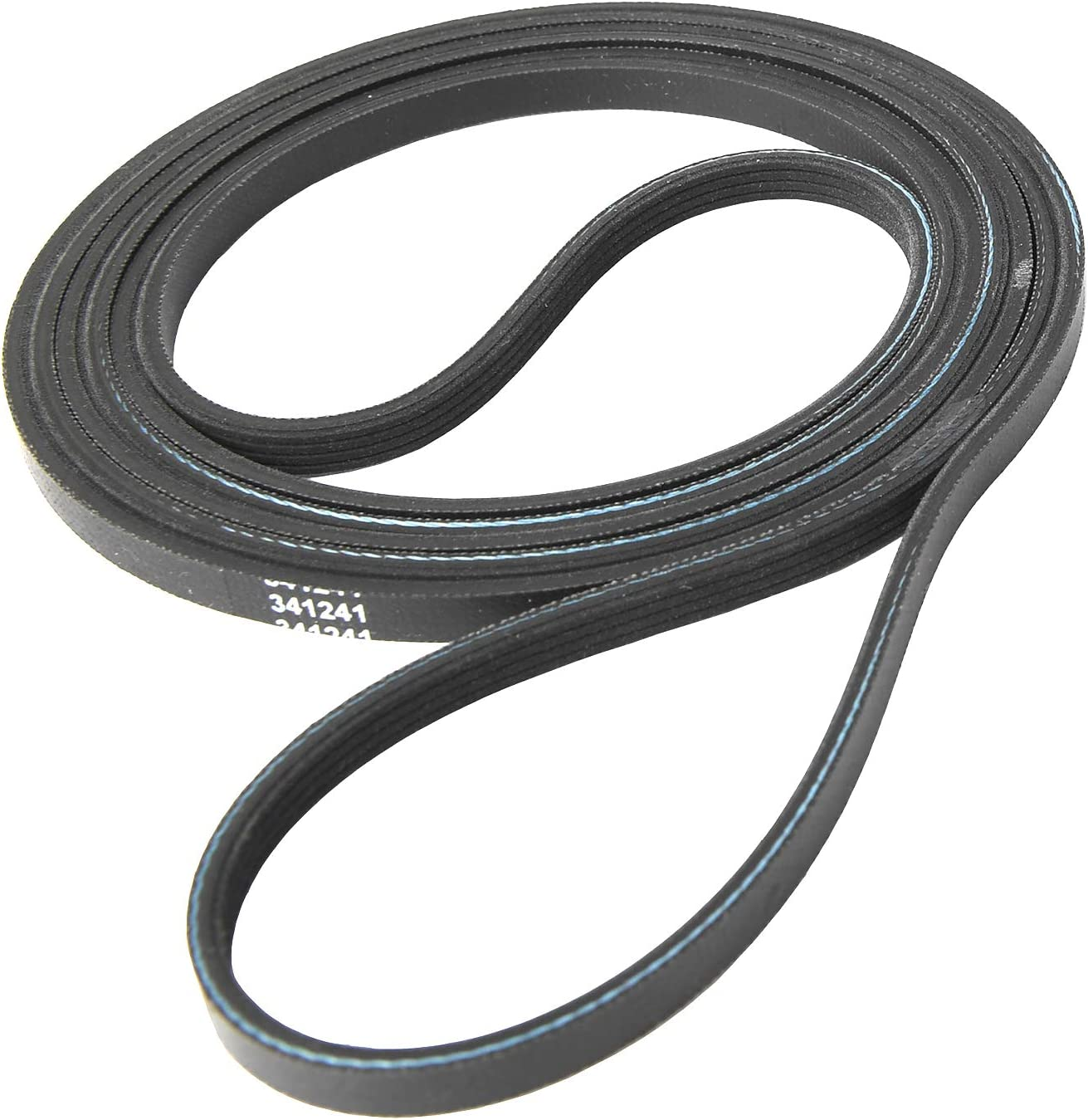 W10127457 8066065,694088,26000341241 26000349533 31001026 by Seentech 341241 Dryer Drum Belt:- Exact fit for Whirlpool /& Kenmore Dryer- Replaces Part Numbers AP2946843 FSP341241