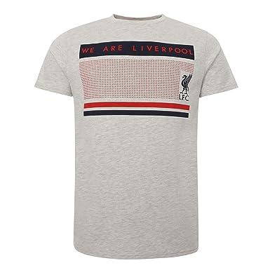 Liverpool FC Camiseta Hombre Crudo Jaspeado We Are Liverpool LFC ...