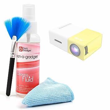 DURAGADGET Kit para Limpiar La Pantalla De Proyector ARTLII Mini ...