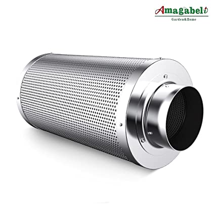 Amagabeli 4 inch Carbon Filter Odor Control for Hydroponics Indoor Plants Grow Tent 4 in Air  sc 1 st  Amazon.com & Amazon.com: Amagabeli 4 inch Carbon Filter Odor Control for ...