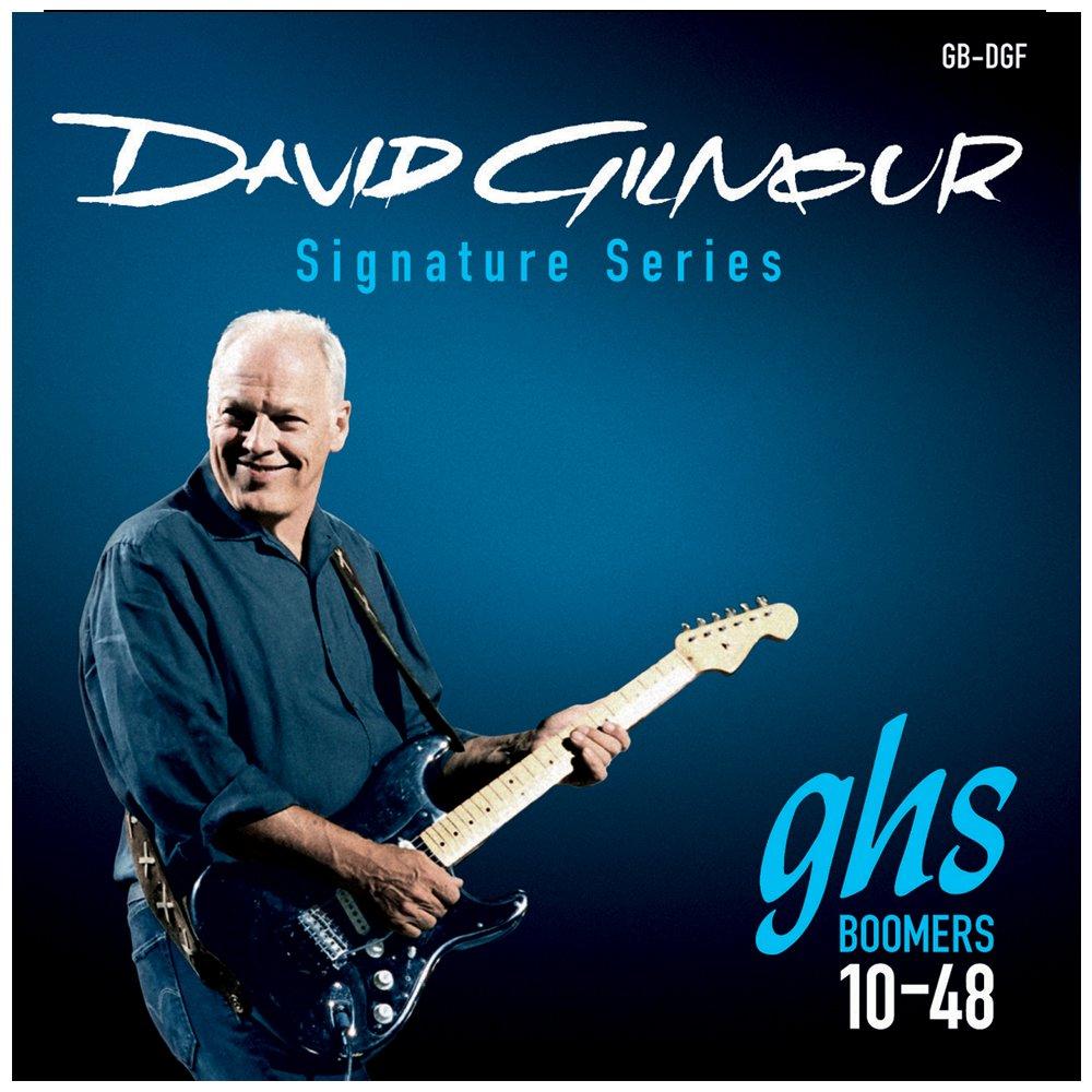 GHS GB-DGF Boomers David Gilmour - Juego de cuerdas para guitarra eléctrica, 10