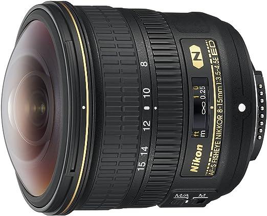 Nikon Af S Fisheye Nikkor 8 15mm 1 3 5 4 5e Ed Lens Camera Photo