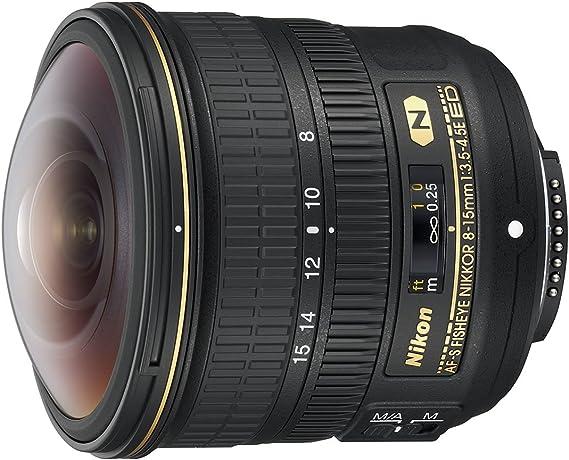 Nikon JAA831DAF - Objetivo para cámara réflex Fisheye AF-S 8-15MM ...