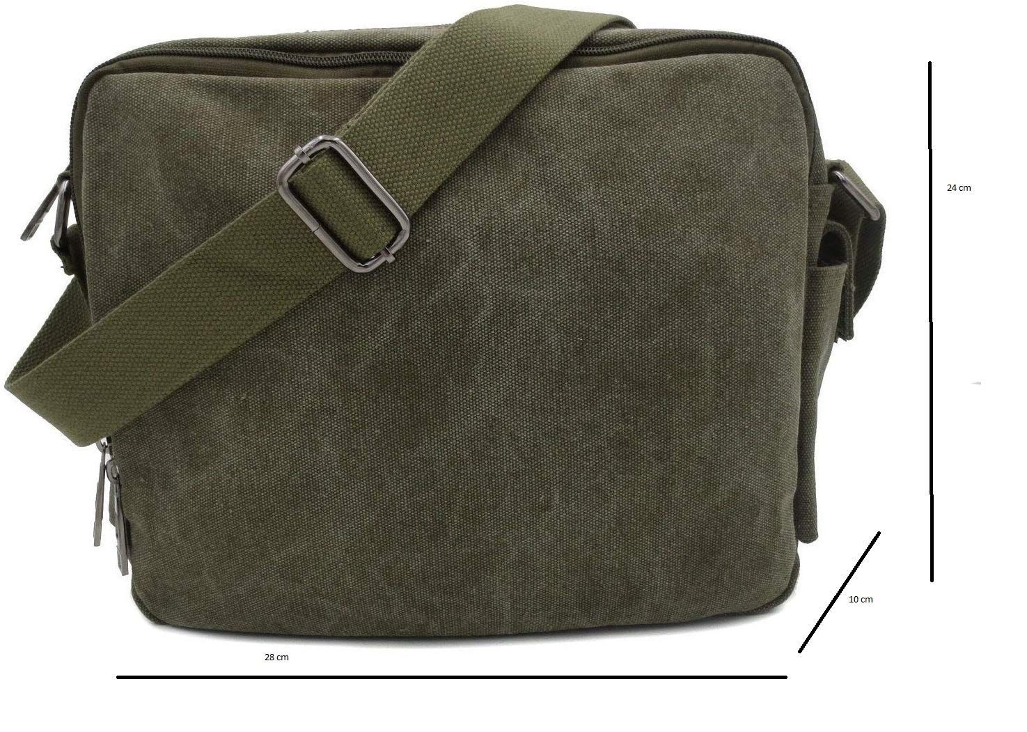 34d6e67a18a Aeoss Multifunction Men Canvas Bag Casual Travel Bolsa Masculina Men S  Crossbody Bag Men Messenger Bags  Amazon.in  Bags, Wallets   Luggage