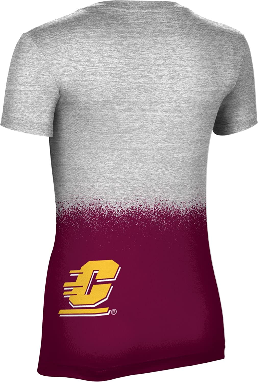 ProSphere Central Michigan University Girls Performance T-Shirt Spray Over