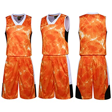 online store efbfe 0b0ce Amazon.com: LifeSport2U Camouflage Youth Basketball Uniforms ...
