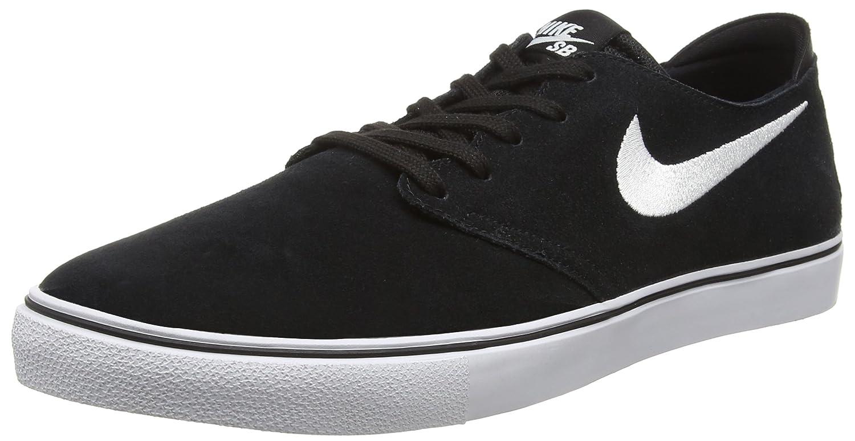 NIKE Men's Zoom Oneshot Sb Skate Shoe 7.5 D(M) US|Black/White/Gum Light Brown