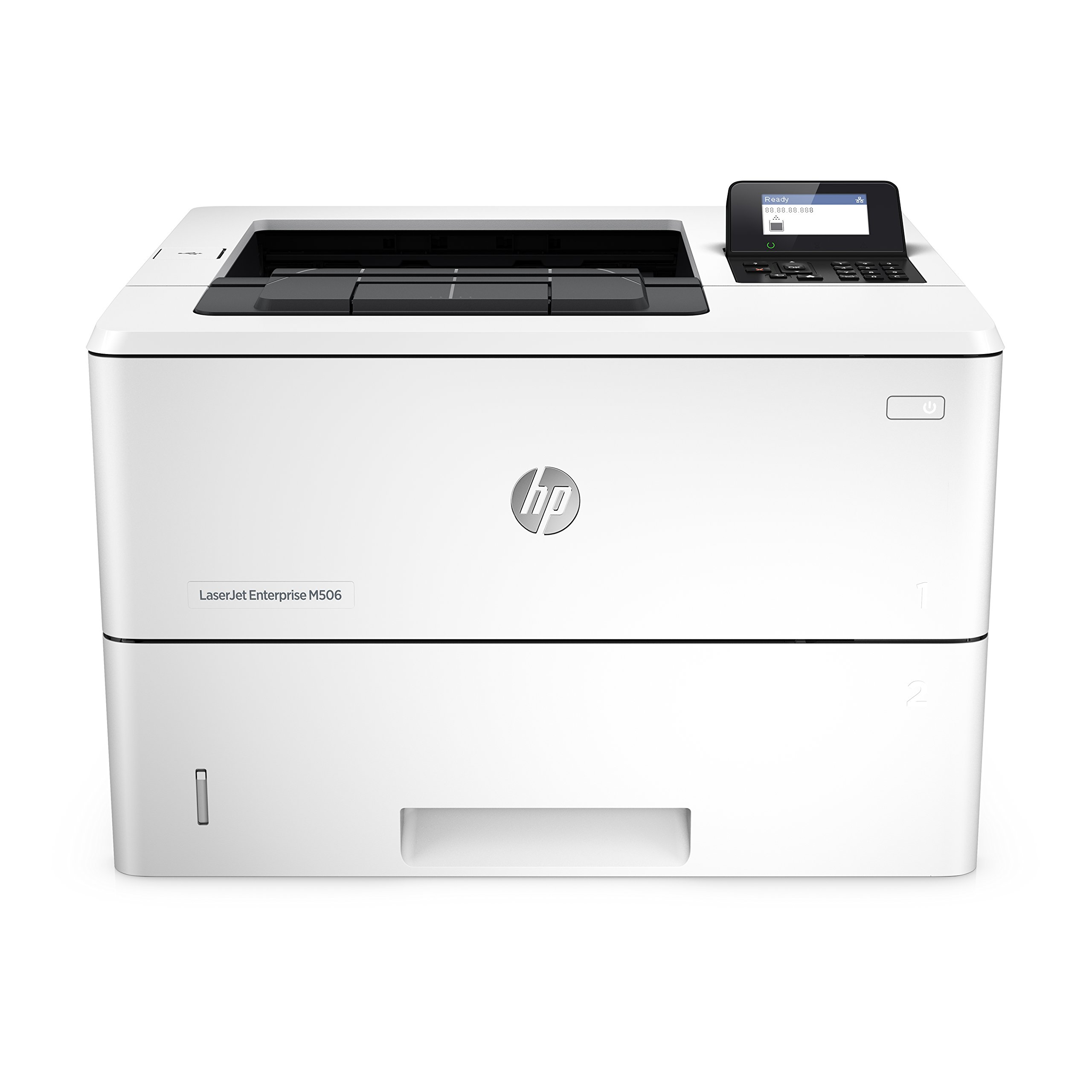 HP LaserJet Enterprise M506n Laser Printer with Built-in Ethernet (F2A68A) by HP