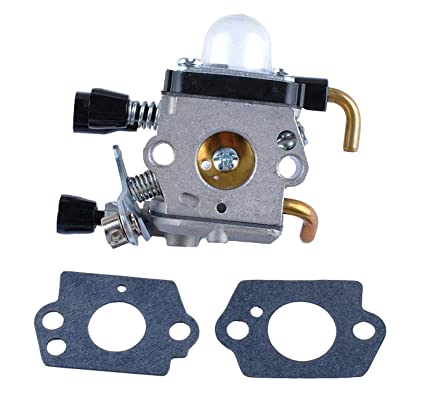 Poweka Replace Zama Carburetor For STIHL FS55 FC55 FS45 C1Q S71 C1Q S97 A C1Q S143 C1Q S153 C1Q S186 C1Q S186 A CIQ S186B 41401200619 4140 120 0619 B