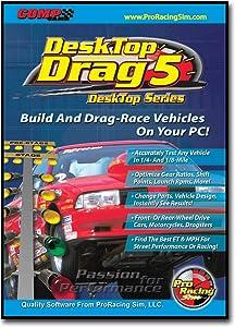 COMP Cams 186401 Pro Racing Sim Desk Top Drag 5 Software
