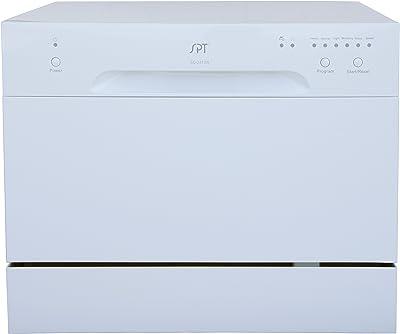 SPT Countertop Dishwasher, White