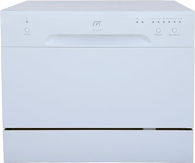 Amazon.com: SD-2213W - Lavavajillas, color blanco, Blanco ...