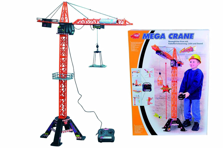 Dickie 3462439 - Kran mit Kabelfernsteuerung, 120 cm: Amazon.de ...