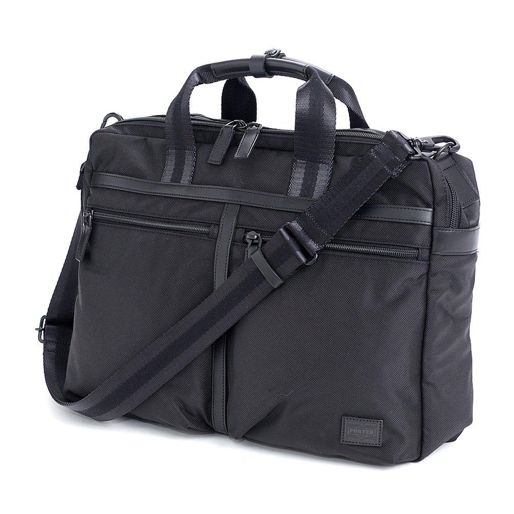 (ポーター) PORTER 3wayビジネスバッグ ショルダーバッグ リュック 859-05606 B0188N9HL8 ブラック