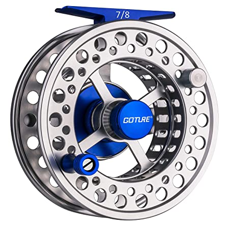 Goture Fly Fishing Reel Large Arbor with CNC-machined Aluminum Alloy Body 5 6, 7 8