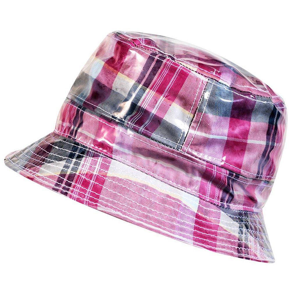 898084d8f2fbcc Markenlos Women's Bucket Hat Multi-Coloured Multicoloured - Multi-Coloured  - Large: Amazon.co.uk: Clothing
