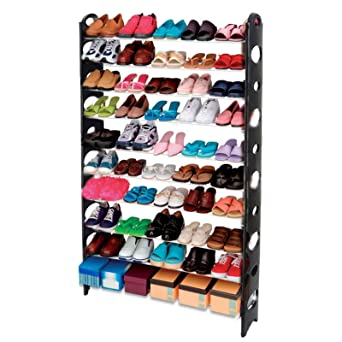 Merveilleux AcornFort S 106 10 Tier Adjustable Shoe Storage Shoe Rack Organiser Shelf  Hold Stand For