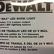 Dewalt Dcl040 20 Volt Max Led Flashlight Amazon Ca Tools