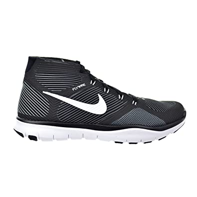 4cfaa4010cb8 Nike Free Train Instinct Men s Shoes Black White Dark Grey 833274-010 (