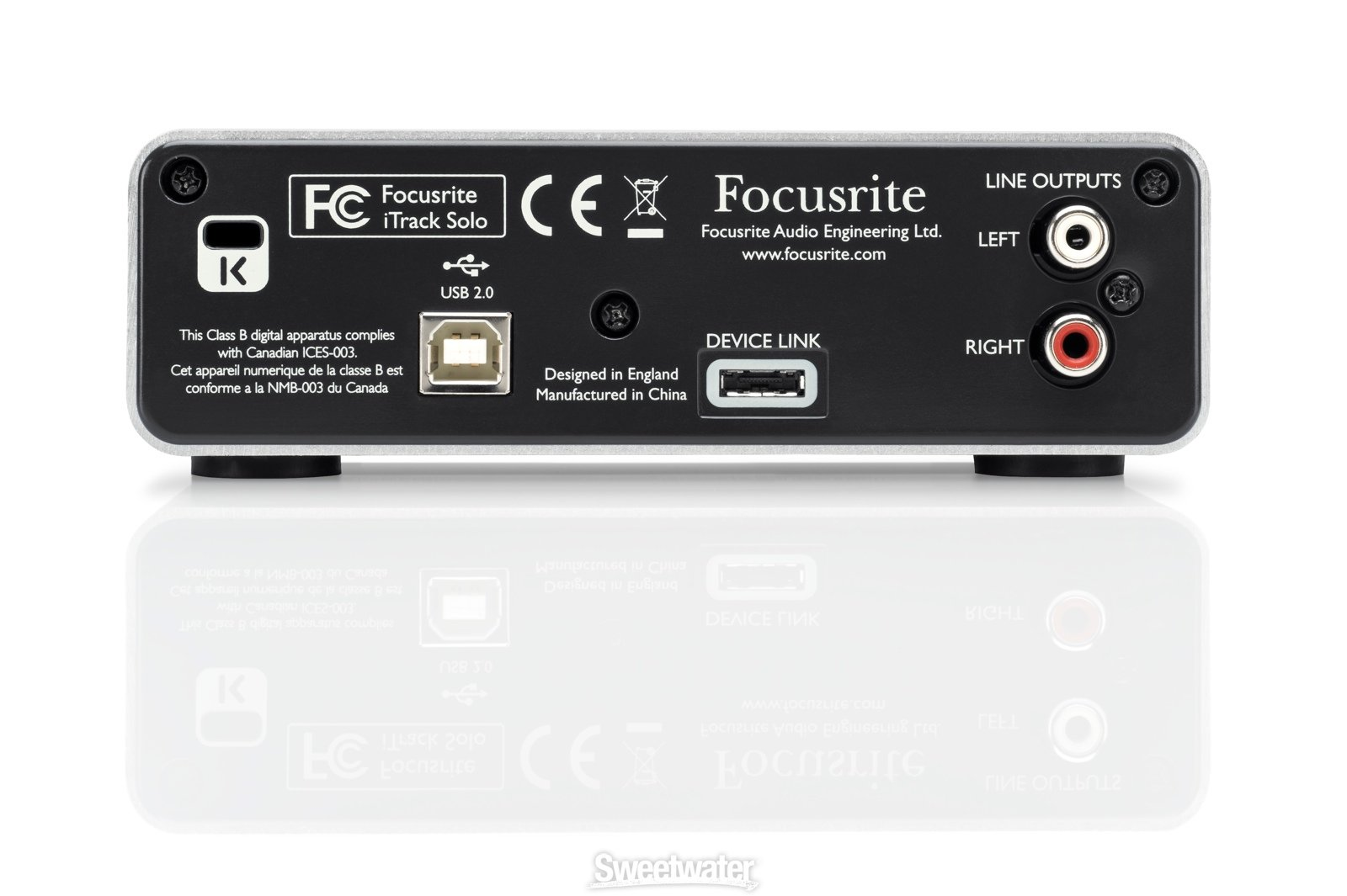 Focusrite iTrack Solo USB Audio Interface by Focusrite