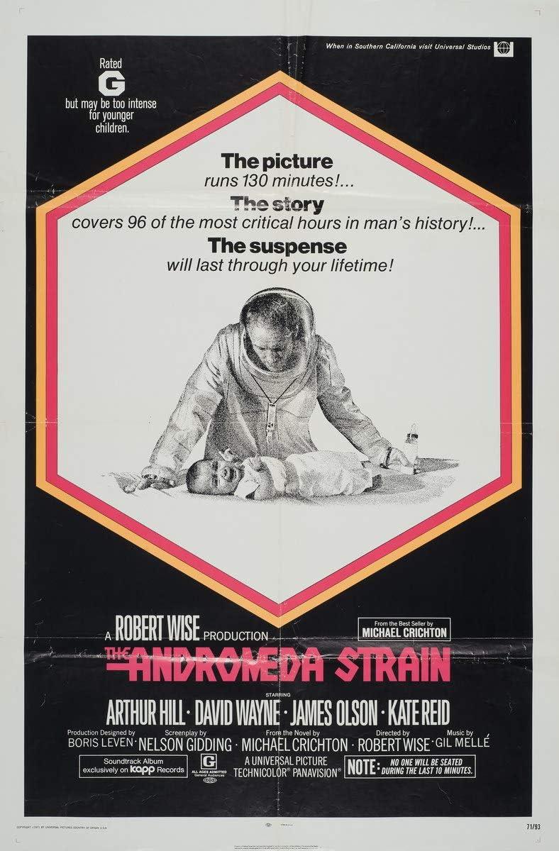 """Résultat de recherche d'images pour """"andromeda strain poster"""""""