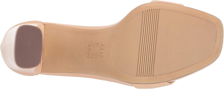 Naturalizer Women's Joy Heeled Sandal Soft Nude Leather
