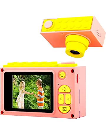 ShinePick Cámara Digital para Niños,Video Cámara Zoom Digital de 4X / 8MP / 2