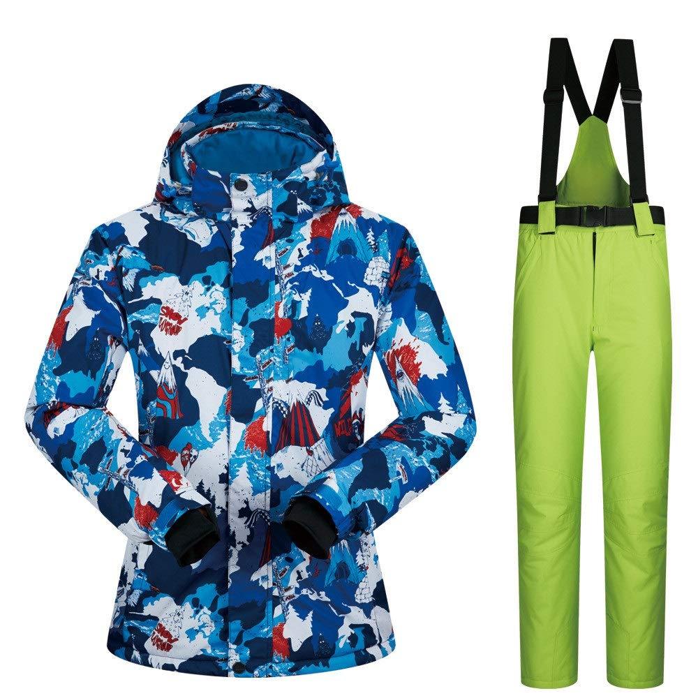 Gimitunus Snowsuit Impermeabile Antivento, Tuta da Neve Tuta Tuta Tuta da Donna Tuta da Sci Frossodo Antivento Impermeabile Traspirante (Coloreee   Light verde Pants, Dimensione   XL)B07L2SW7PWL verde pants | Special Compro  | Qualità In Primo Luogo  | Stravagant c10b2e