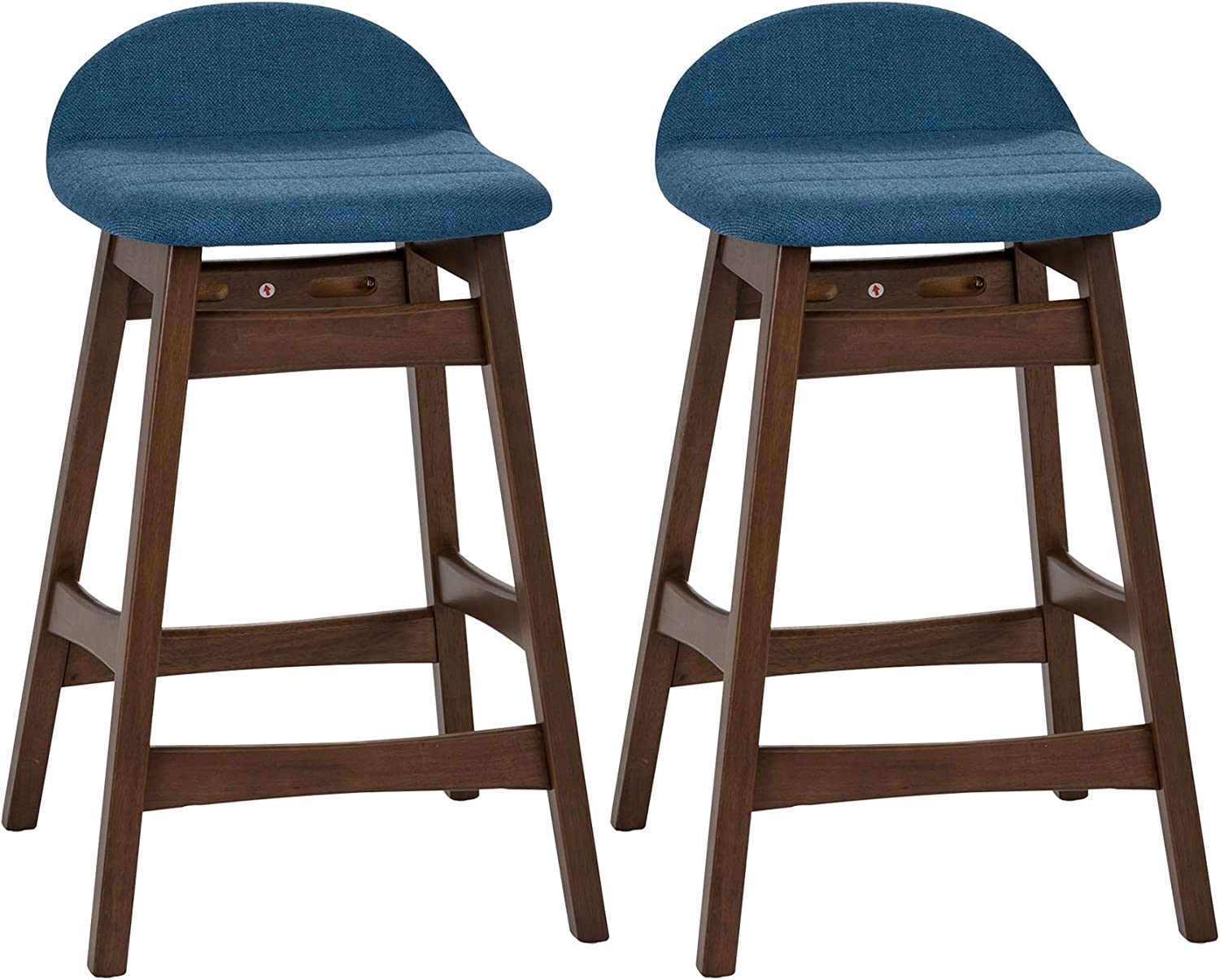 Liberty Furniture Industries Space Savers (Set of 2) Counter Chair (RTA), Blue