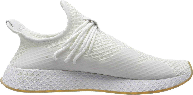 Adidas Herren Deerupt S Sneaker, Bianco Ftwr White Ftwr White Gum 3