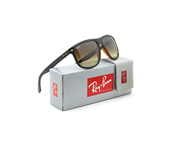 0770a71bc7 Amazon.com  Ray-Ban RB4147 Square Unisex Gradient Sunglasses 609585 - 60mm   Clothing