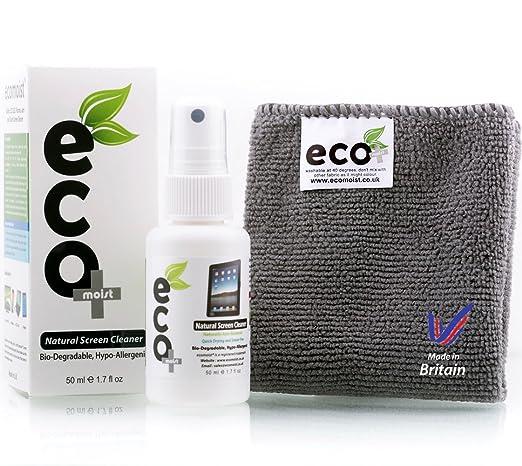 49 opinioni per Ecomoist Pulizia dello schermo (50ML) + Asciugamano Microfibra (20x20CM),