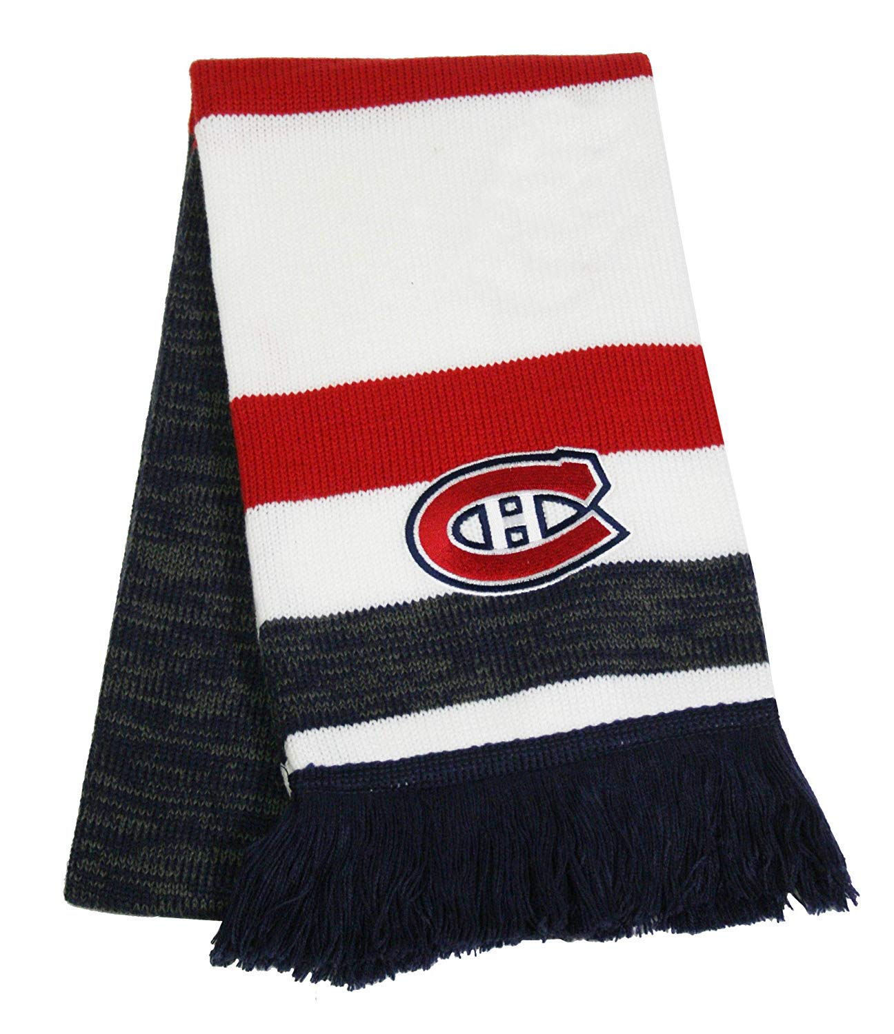 Montreal Canadiens Reebok Center Ice Jacquard Scarf